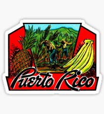 Puerto Rico Vintage Travel Decal Sticker