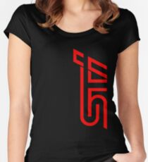 STI Classic Red Women's Fitted Scoop T-Shirt