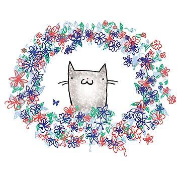 Winter Cat by katyannabel