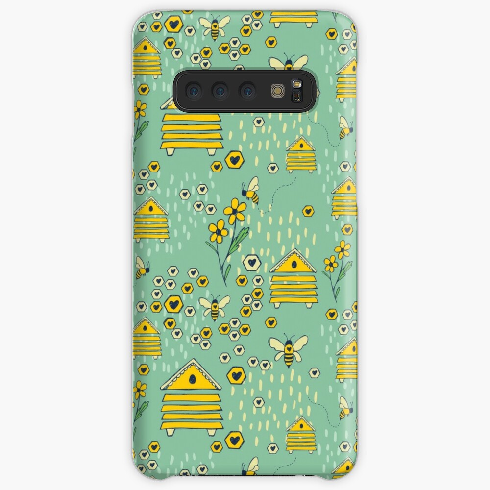 Honey Comb Hives Case & Skin for Samsung Galaxy