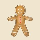 Gingerbread man by Prettyinpinks