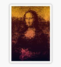 Sunset Mona Lisa Sticker