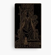Queen of Wands Canvas Print