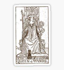 Queen of Wands Sticker