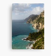 Amalfi Coastline  Canvas Print