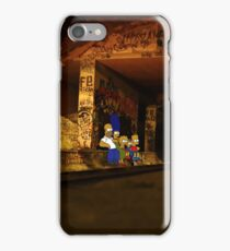 Simpsons Urbex iPhone Case/Skin