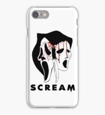 Ghostface killer iPhone Case/Skin