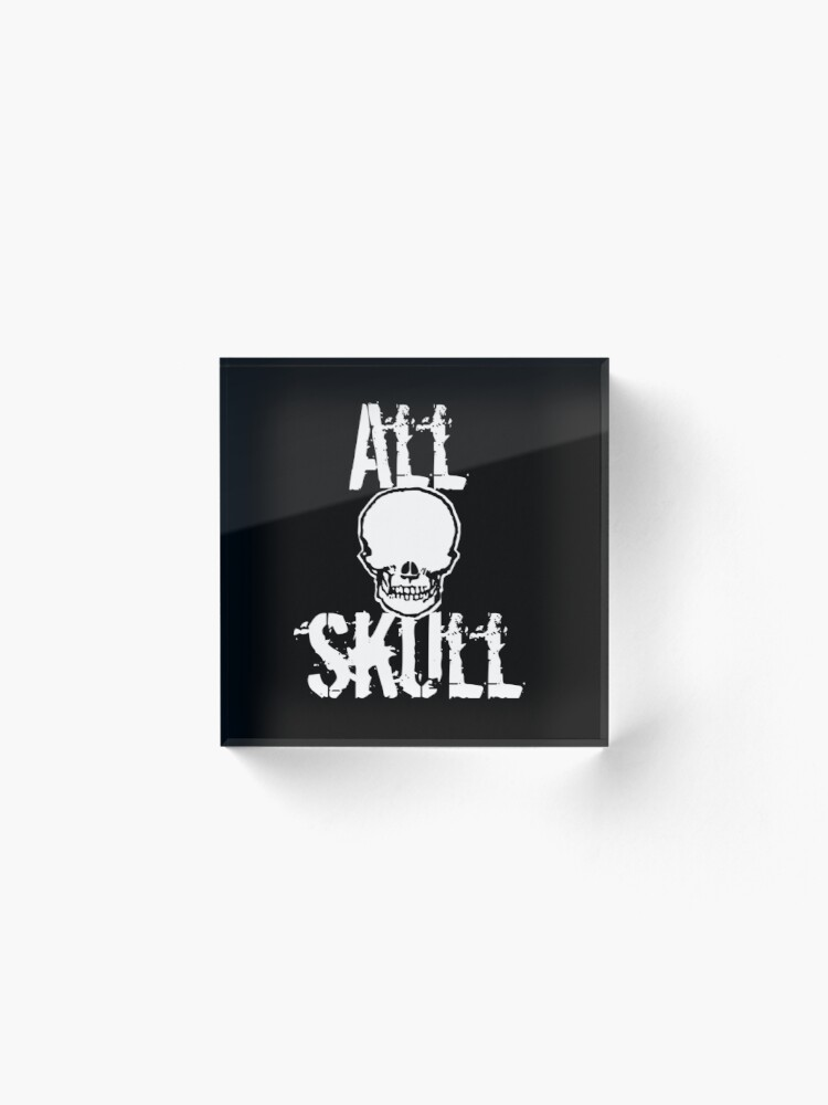 Alternate view of All Skull - The Dark Side Acrylic Block