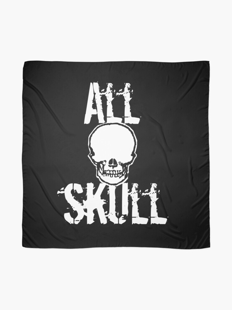 Alternate view of All Skull - The Dark Side Scarf