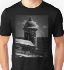 Garita del Morro 001 BW T-Shirt