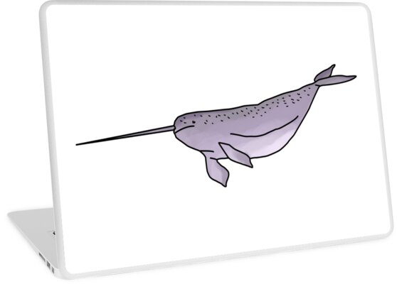 Narwhal Illustration by PatiDesigns