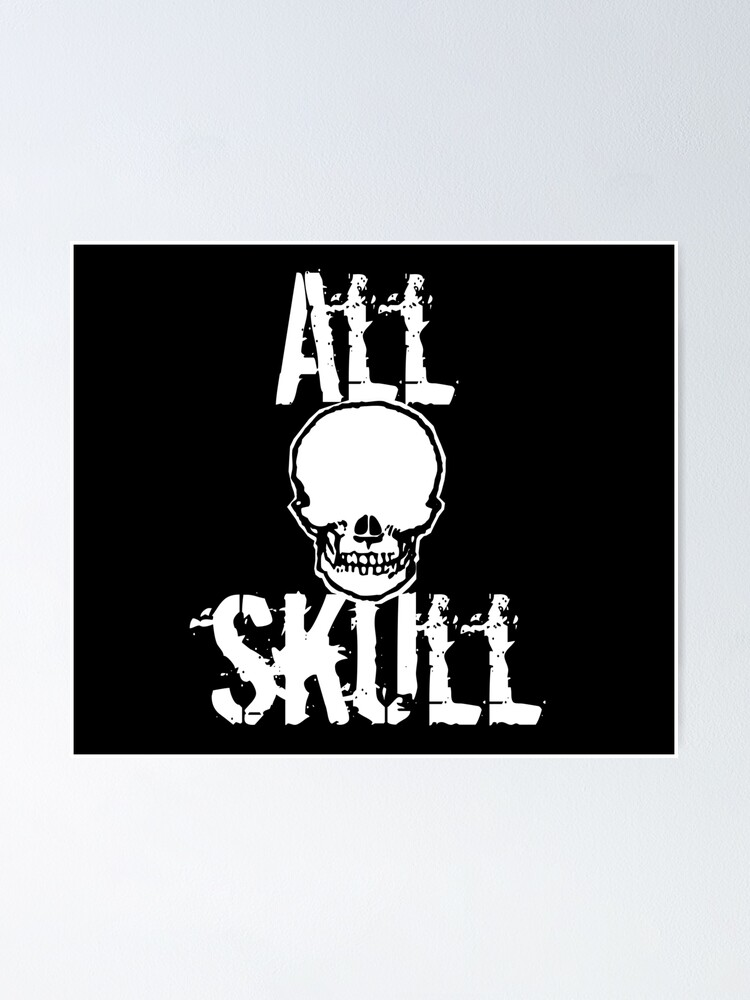 Alternate view of All Skull - The Dark Side Poster