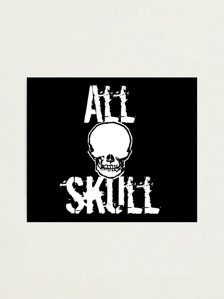 Alternate view of All Skull - The Dark Side Photographic Print