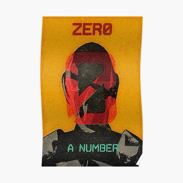 Zer0 Vintage Borderlands Graphic Poster