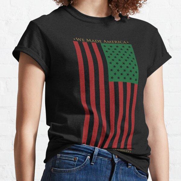 ROT SCHWARZ UND GRÜNE FLAGGE Classic T-Shirt