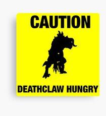 Deathclaw Canvas Print
