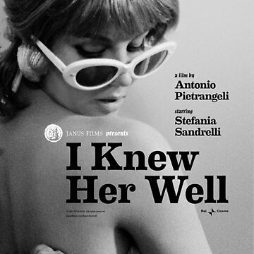 I Knew Her Well Movie Poster by lofcuk