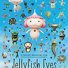 Jellyfish Eyes Movie Poster by Simon Gentleman