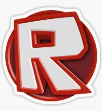Roblox R Sticker