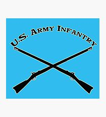 U.S. Army Infantry Photographic Print