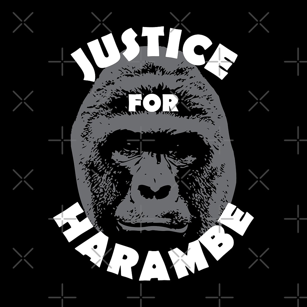 Justice for Harambe by DJBALOGH