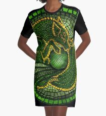 By the Dread Wolf's Design Graphic T-Shirt Dress