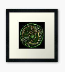By the Dread Wolf's Design Framed Print