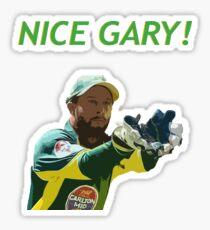 Nice Gary! - Matthew Wade Design Sticker