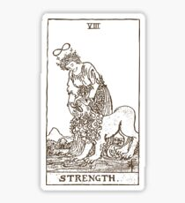 Strength Tarot Sticker