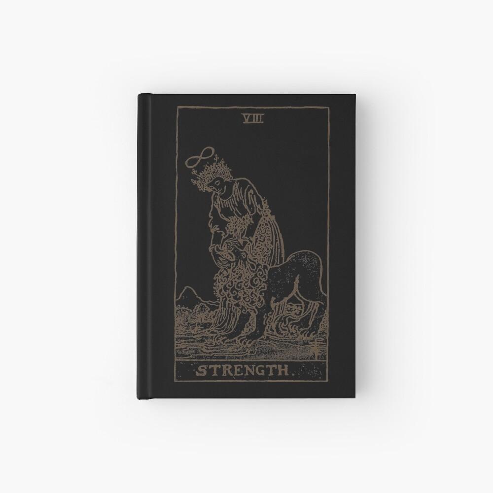 Strength Tarot Hardcover Journal