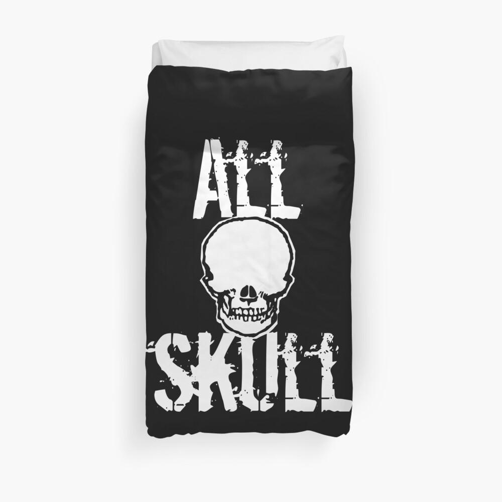 All Skull - The Dark Side Duvet Cover