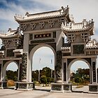 1179 Gate to the Heavenly Queen Temple by DavidsArt