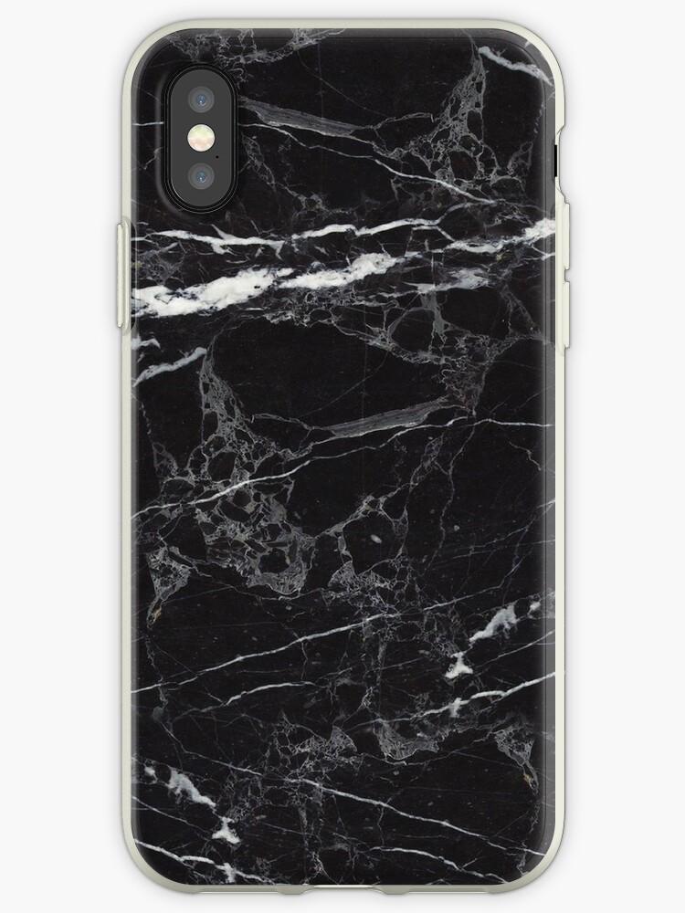 Quot Black Marble Quot Iphone Case Amp Cover By 2d3d Redbubble