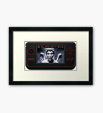 Weeping Angel Video Game Framed Print