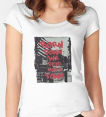 Born in the USA Women's Fitted Scoop T-Shirt