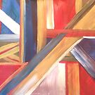 Abstract Flag by L.W. Turek