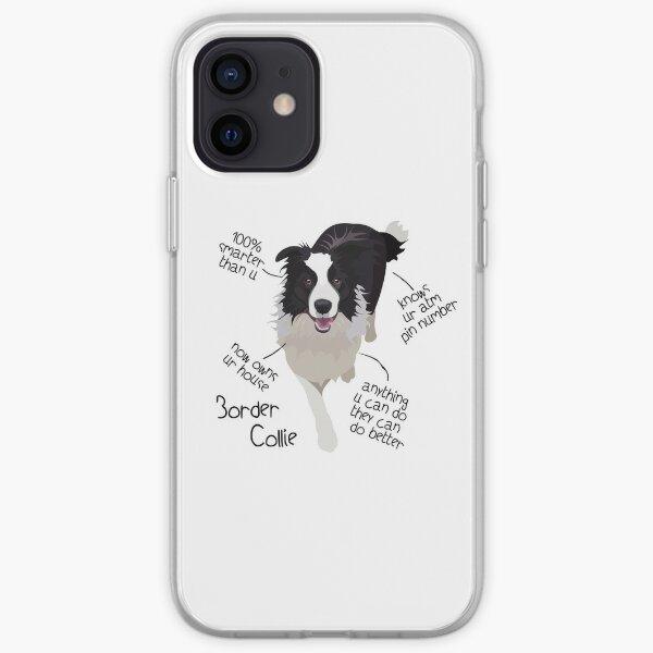 border collie iPhone Soft Case