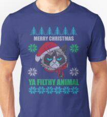 Merry Christmas Ya Filthy Animals T-Shirt