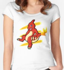 Cha Charmeleon  Women's Fitted Scoop T-Shirt