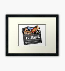 Series Tv Framed Print