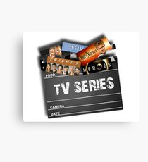 Series Tv Canvas Print