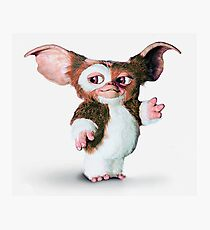 Gremlins - Gizmo the Mogwai Photographic Print