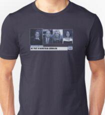 Breaking News : No Trust In Mainstream Journalism Unisex T-Shirt