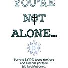 You're Not Alone with Scripture by Olga