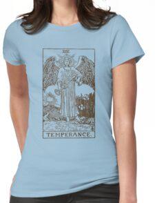 Temperance Tarot Womens Fitted T-Shirt