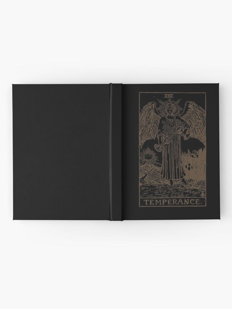 Alternate view of Temperance Tarot Hardcover Journal