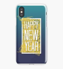 Happy new year. iPhone Case