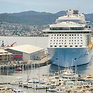 Ovation of the Seas visits Hobart by TonyCrehan
