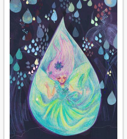 Raindrop fairy  Sticker