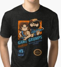 Game Grumps NES Cover Tri-blend T-Shirt